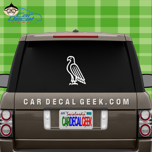 Bald Eagle Vinyl Car Decal Sticker