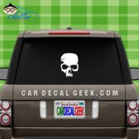 Skull Car Window Decal