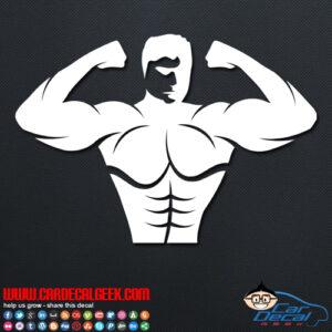 Bodybuilder Decal