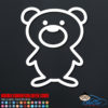 Cute Teddy Bear Decal Sticker