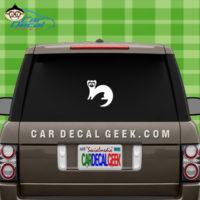 Ferret Car Window Decal Sticker