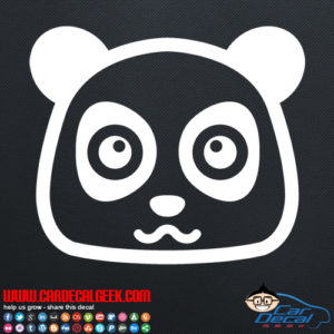 Cute Panda Decal Sticker