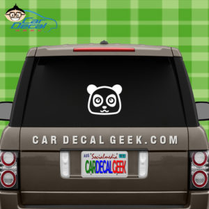 Cute Panda Vinyl Decal Sticker