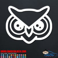 Fun Owl Decal