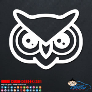 Fun Owl Decal