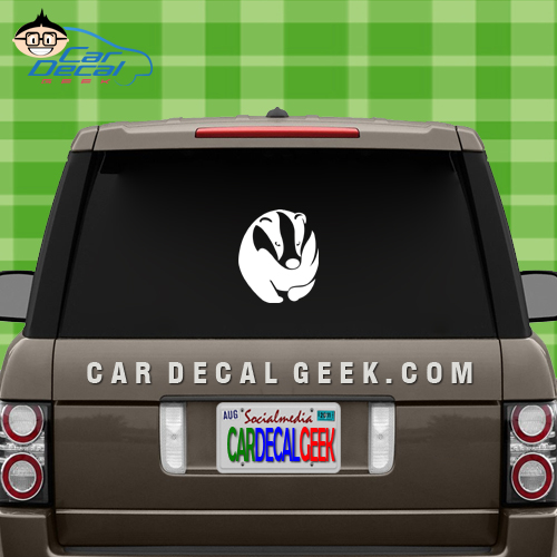 Honey Badger Car Window Decal Sticker
