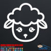 Lamb Decal
