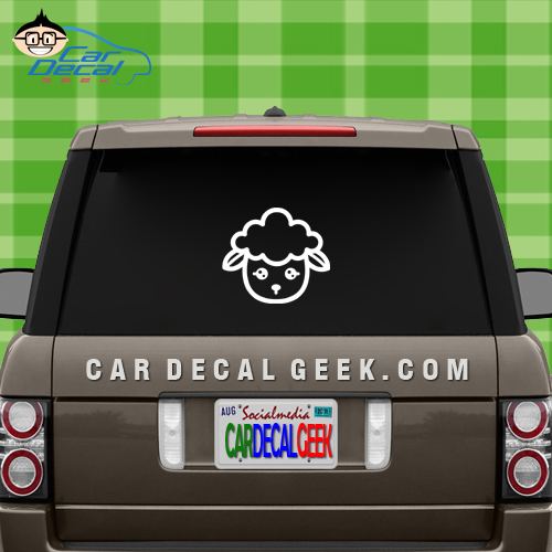 Lamb Vinyl Decal
