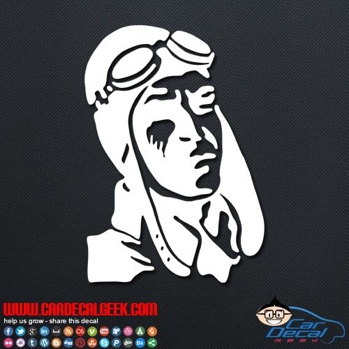 Pilot Decal Sticker