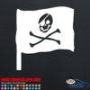 Pirate Flag Decal Sticker