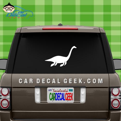 Plesiosaur Loch Ness Monster Car Window Decal Sticker