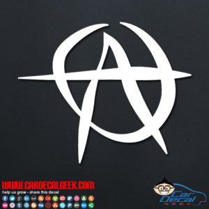 Anarchy Decal Sticker
