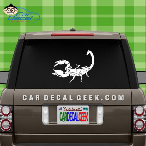 Scorpion Car Window ADecal