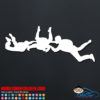 Skydivers Circle Decal Sticker