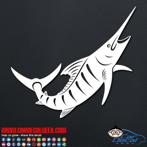 Swordfish Decal Sticker