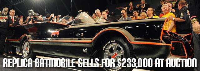 Batmobile at Auction