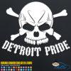 Detroit Pride Decal
