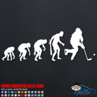 Hockey Evolution Decal