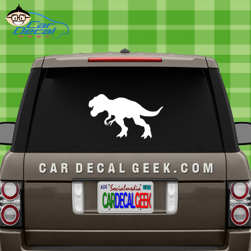 Jurassic Park T Rex Dinosaur Car Window Decal