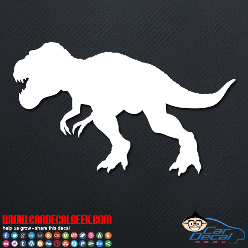 Jurassic Park T Rex Dinosaur Car Amp Truck Decal Sticker