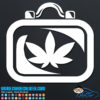 Medical Marijuana Case Decal Sticker