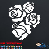 Roses Decal Sticker