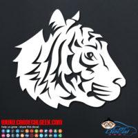 Tiger Vinyl Decal