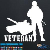 Veteran Soldier Decal Sticker