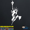 Patriotic Statue of Liberty Decal