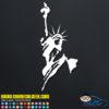 Patriotic Statue of Liberty Decal