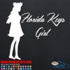 Florida Keys Girl Decal