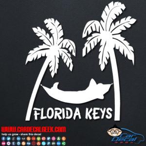 Florida Keys Hammock Decal