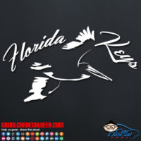 Florida Keys Pelican Decal