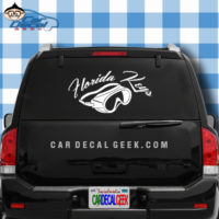 Florida Keys Scuba Mask Sticker