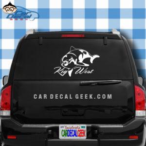 Key West Dolphin Sticker