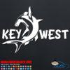 Key West Hammerhead Shark Decal Sticker