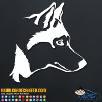 Husky Dog Decal Sticker