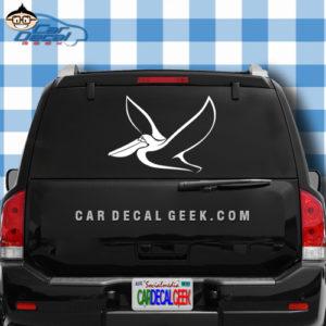 Pelican Car Truck Decal Sticker