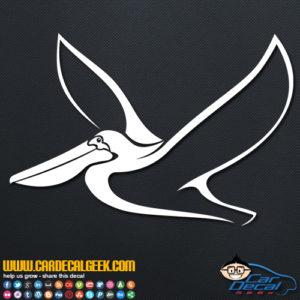 Pelican Decal Sticker