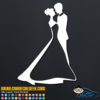 Bride and Groom Decal Sticker