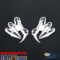 Claws Decal Sticker