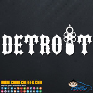 Detroit Decal Sticker