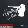 Hunting Diva Decal Sticker