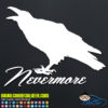Poe Raven Nevermore Decal Sticker