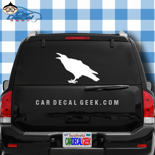 Raven Crow Car Truck Window Decal Sticker - Car decal stickers