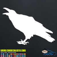 Raven Crow Decal Stcker