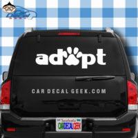 Apopt Cat Dog Pet Paw Car Truck Decal Sticker