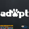 Apopt Cat Dog Pet Paw Decal Sticker