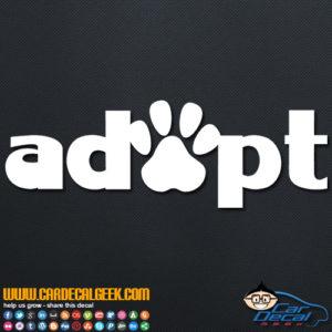 Apopt Cat Dog Pet Paw Decal Sticker