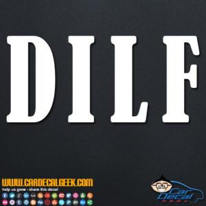 DILF Decal Sticker